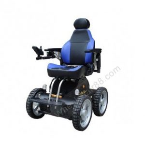 Stair climbing power chair